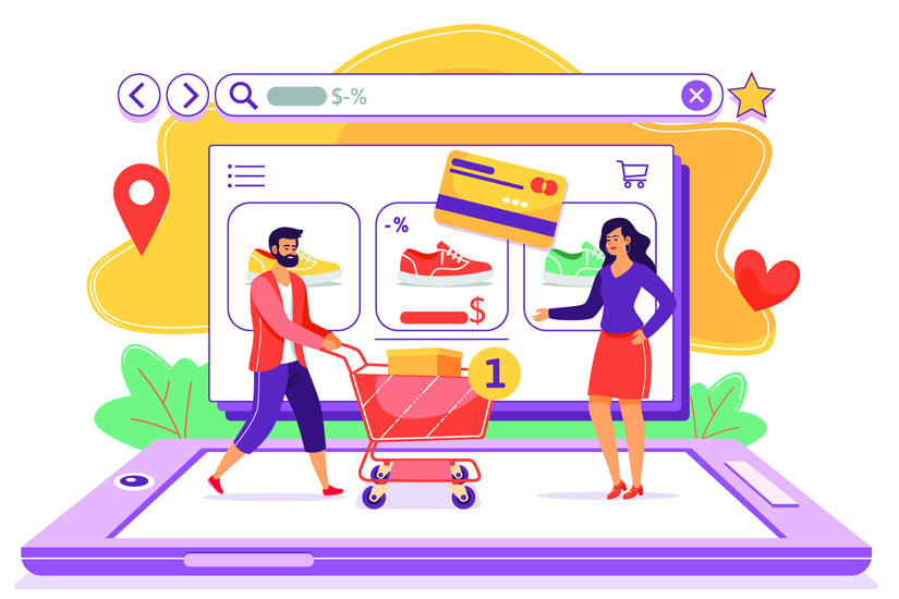 Ecommerce marketing strategy for shopping websites