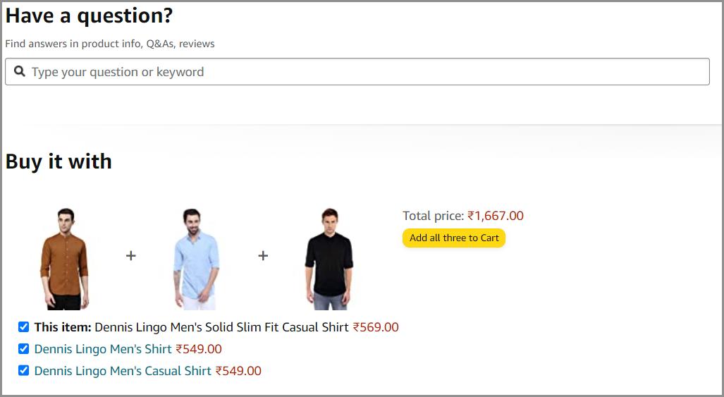 cross selling on e-commerce